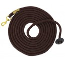 Equistar Rolled Braided Lunge Lead